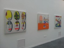Kim Hayoung's degree show, 2014 - installation view