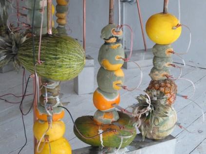 Jeehee Park: Fruit Battery (2014). Installed at Hanmi Gallery. 24 July 2014