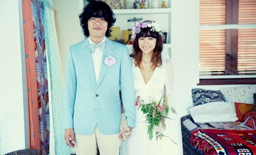 Lee Hyori with Lee Sang Soon