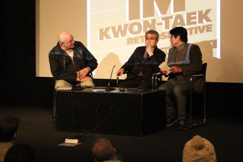 Im Kwon-taek and Kim Hong-joon in conversation with Tony Rayns