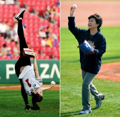 Celebrity pitchers