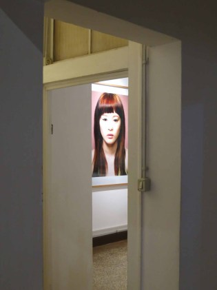 Installation shot of Who is Alice at Spazio Lightbox