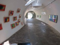 Inside the gallery / library