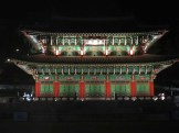 The Donguijeon in the Gi Experience Village at night