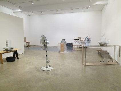 Jewyo Rhii at Wilkinson Gallery - installation view of lower gallery, 13 September 2014
