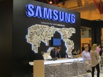 The Samsung Chemical Europe stand