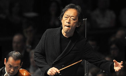 Chung Myung-whun conducts the Seoul Philharmonic on 27 August (photo: BBC / Chris Christodoulou)