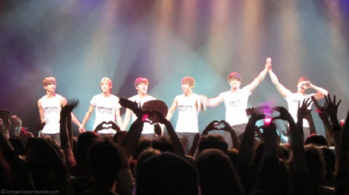 UKISS at the Forum on 24 September. Photo: Korean Class Massive