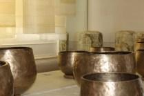 Lee Bong-ju's prayer bowls at Tent London (photo: LKL)