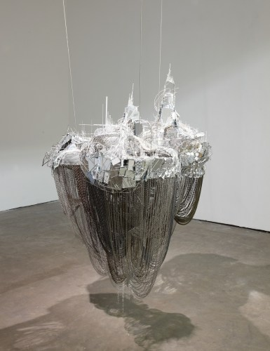 Lee Bul, After Bruno Taut (Devotion to Drift), 2013