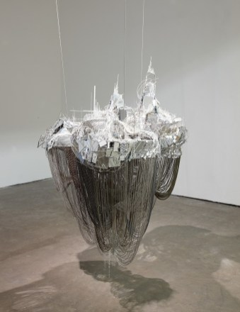 Lee Bul, After Bruno Taut (Devotion to Drift), 2013, mixed media. Courtesy Studio Lee Bul, Art Fund, The New Art Gallery Walsall, Birmingham Museums Trust and Ikon