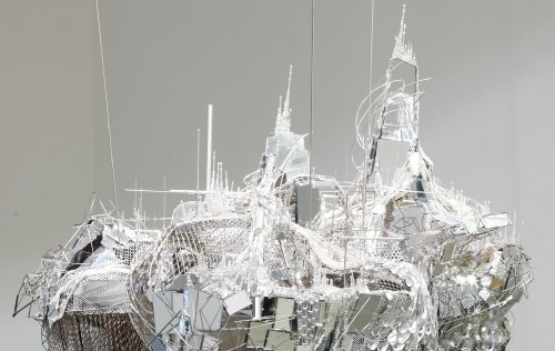 Lee Bul After Bruno Taut Devotion to Drift 2013-detail