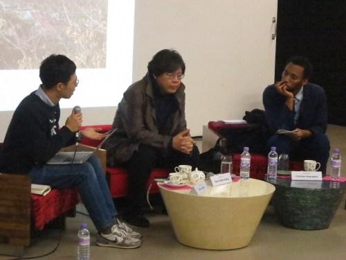 Park Chan-kyong talks about Sindoan