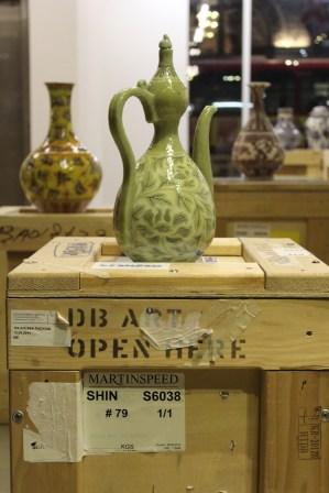Shin Meekyoung: Translation - Vase Series 2000-ongoing. At the Korean Cultural Centre UK, 12 Nov 2013-18 Jan 2014