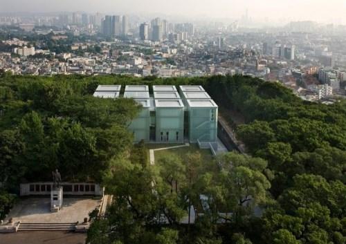 D.LIM Architects: Ahn Junggeun Memorial Hall. Photo: Youngchae Park