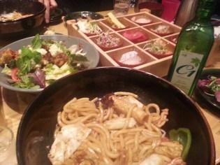 Dinner in Marine City, Busan