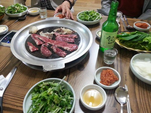 Barbecue beef in Sancheong