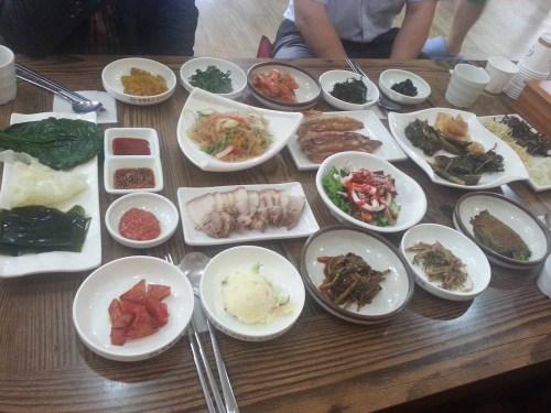 Dinner at the Donguibogam Village