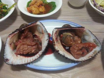 Blood Clams (before)