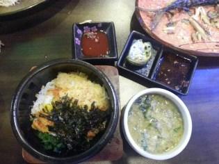 Dinner in Seongbuk-dong