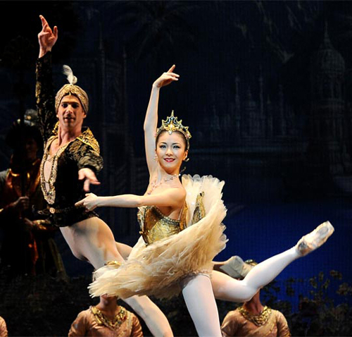 Choe Yu-hui performs La Bayadère