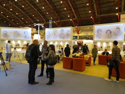 The Korean pavilion at the London Book Fair
