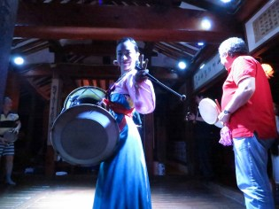 Performance at Sanchon