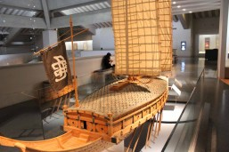 Model of a turtle-ship in the Jinju National Museum