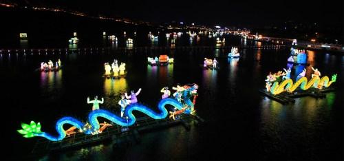 The Jinju Lantern Festival (Namgang Yudeung Festival).
