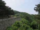 The fortress walls