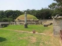 The tomb of King Seongjong in Gangnam