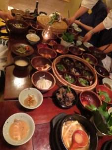 Dinner at San Chon