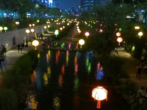 Chonggyecheon lanterns
