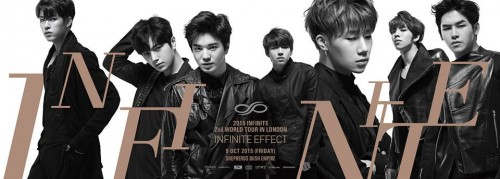 Featured image for post: Event news: Infinite returns to London