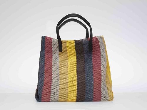 STORI: Five elements colour stripe tote