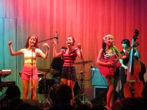 The Barberettes at the Forge, Camden, 4 Sept. Photo LKL