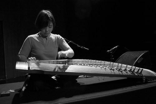 Seo Jungmin in rehearsal