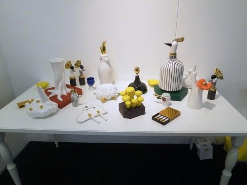 Ceramic objects from Sena Gu