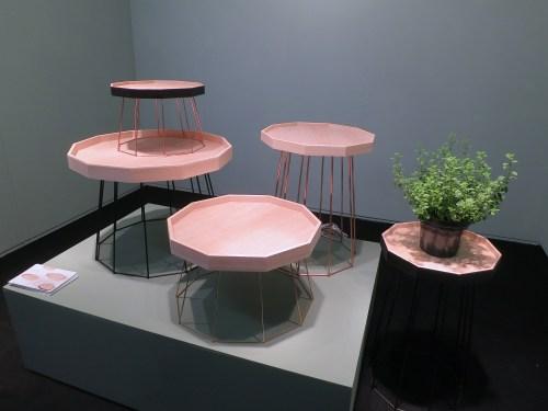 """Jiyun Kim's """"Tea Room"""" compact tables"""