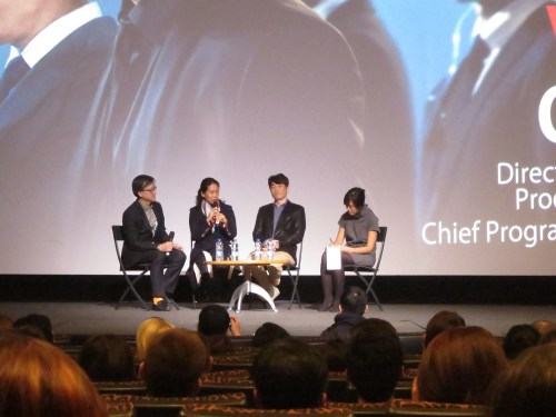 The Q&A after the screening