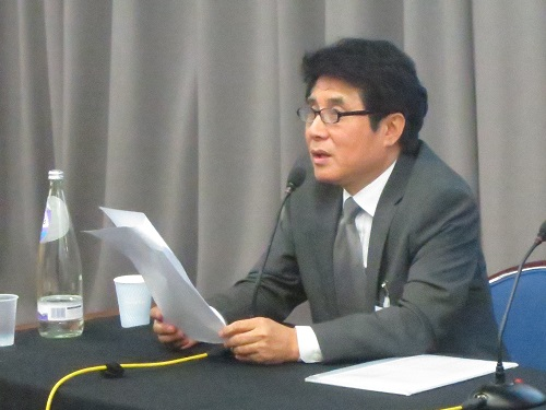 Kim Hong-joon at SOAS