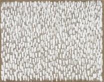 Ha Chong-hyun: Conjunction 14-111 (2014). Oil on hemp cloth, 130 x 162 cm. Courtesy of Tina Kim Gallery