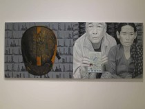 Work by Nepalese artist Hit Man Gurung at APT8