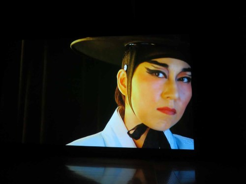 siren eun young jung: still from Act of Affect, installed at APT8