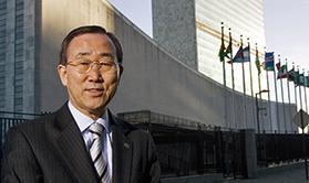 BKM outside UN headquarters - 137367 - 279x166