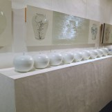 A set of porcelain bowls from Lee Se-yong with ceramic paintings from Lee Seung-hee