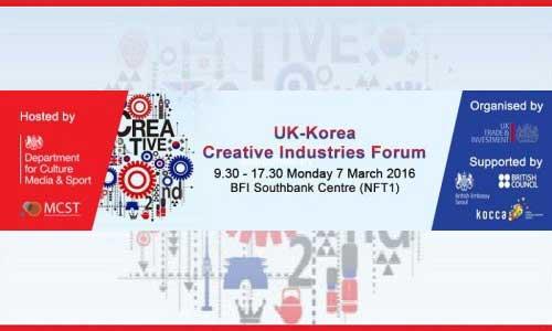 UK-Korea Creative Industries Forum banner
