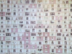 Inside Seodaemun Prison - a wall commemorating the activists imprisoned there