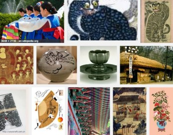 Decorative Arts and Folk Customs of Korea