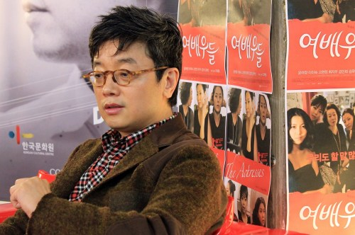 E J-yong in London for the screenings of Actresses